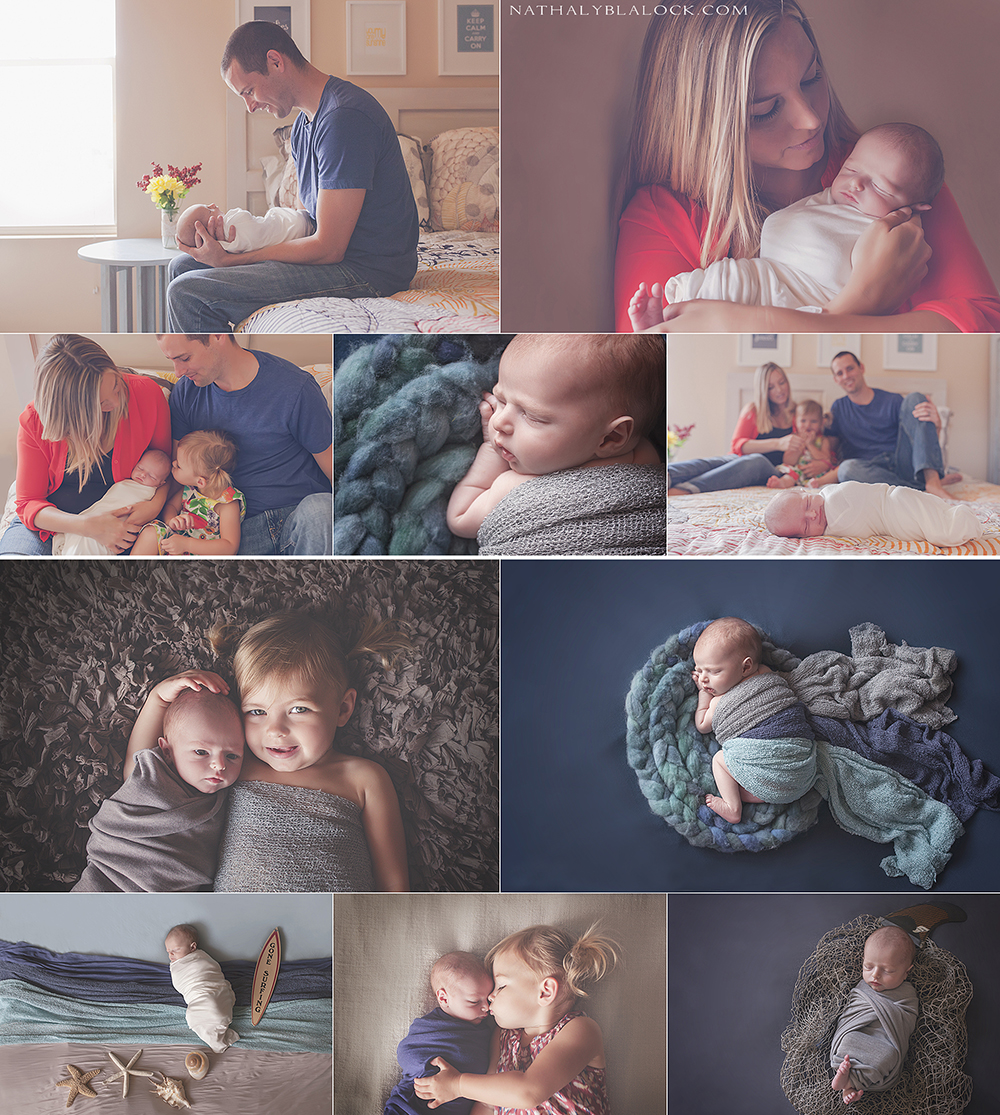 Satellite Beach Lifestyle Newborn Photographer